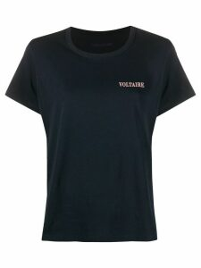 Zadig & Voltaire chest logo T-shirt - Blue