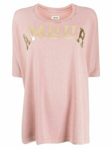 Zadig & Voltaire Amour T-shirt - PINK