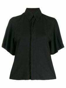 Ami Paris concealed fastening shirt - Black