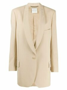 Stella McCartney Allison single-breasted blazer - NEUTRALS