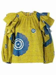 Ulla Johnson Caasi lime blouse - Yellow