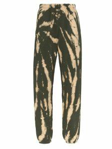 Les Tien Kelly tie-dye track pants - Green