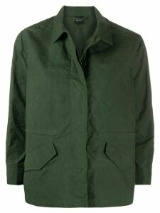 Aspesi regular-fit shirt jacket - Green