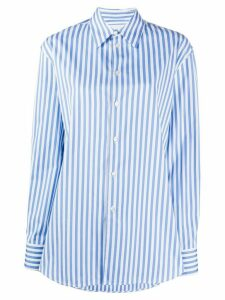 Jil Sander striped regular-fit shirt - Blue