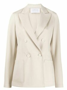 Harris Wharf London double-breasted blazer - NEUTRALS