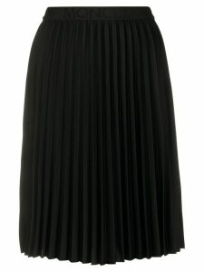 Moncler pleated mid-length skirt - Black