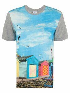 PS Paul Smith photo-print T-shirt - Blue