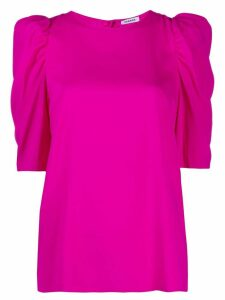 P.A.R.O.S.H. structured-shoulder blouse - PINK