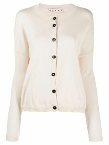 Marni drop-shoulder cardigan - NEUTRALS