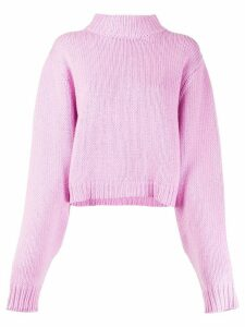 The Row roll neck jumper - PINK