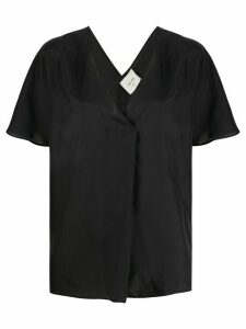 Alysi wrap top - Black