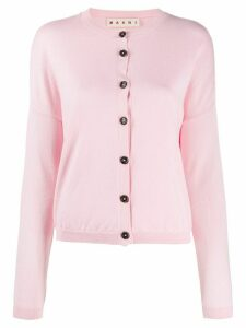 Marni drop-shoulder cardigan - PINK