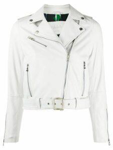D'aniello Emily biker jacket - White