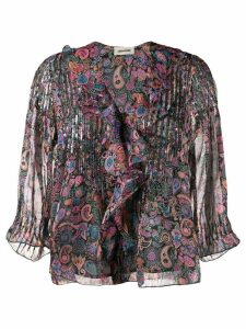 Zadig & Voltaire paisley-print blouse - PINK