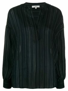 Vince striped v-neck blouse - Blue