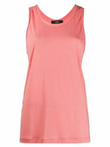 Diesel gathered back vest top - PINK