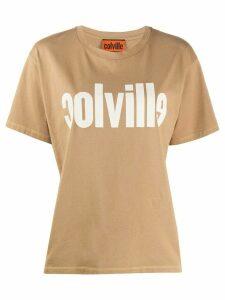 colville logo print T-shirt - NEUTRALS