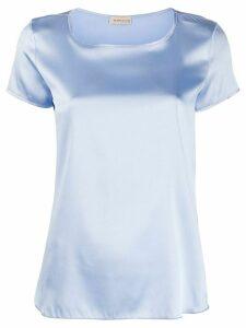 Blanca Vita Tania silk T-shirt - Blue