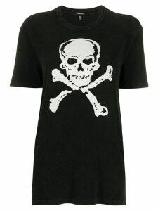 R13 skull and crossbones T-shirt - Black