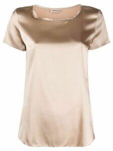 Blanca Vita Tania silk T-shirt - NEUTRALS
