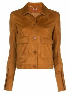 Altuzarra Greenvale shirt jacket - Brown