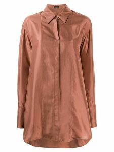 Joseph Dawson silk blouse - Brown