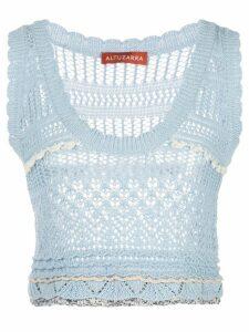 Altuzarra Betula knitted top - Blue