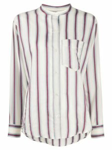Isabel Marant Étoile Satchell striped shirt - NEUTRALS