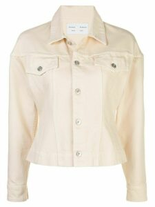 Proenza Schouler White Label cinched denim jacket