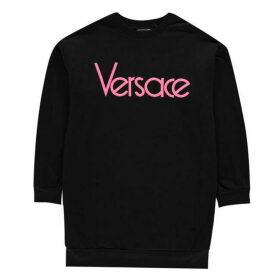 Young Versace Contrast Logo Sweatshirt