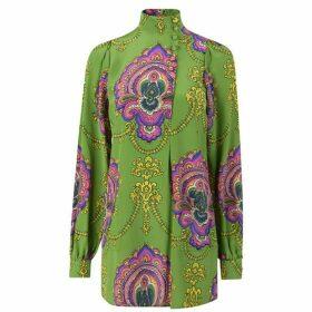 Gucci Tresre Silk Shirt