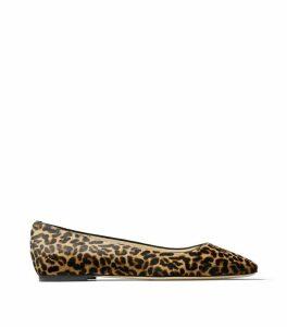 Leopard Print Mirele Flats