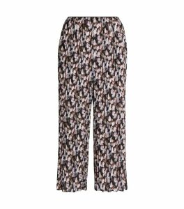 Floral Pleated Culottes