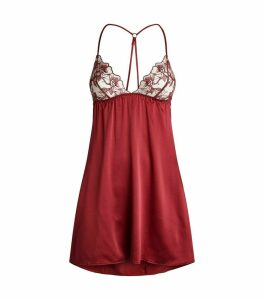 Embroidered Marilyn Chemise