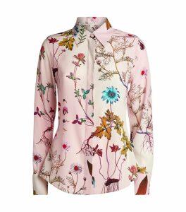 Silk Floral Shirt