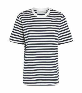 Logo Tape Stripe T-Shirt