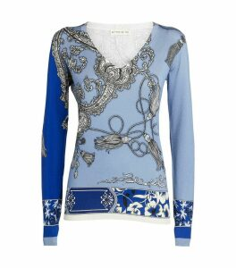 V-Neck Baroque Sweater
