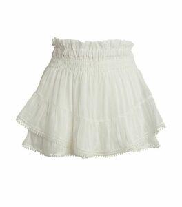Janis Shirred Shorts