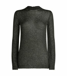 Sequinned Knit Sweater