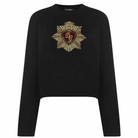 Dolce and Gabbana Heart Logo Sweatshirt