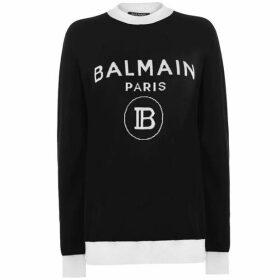 Balmain Balmain B Logo Knit Ld00