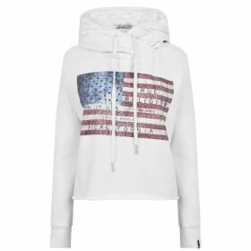 True Religion Us Flag Hooded Sweatshirt