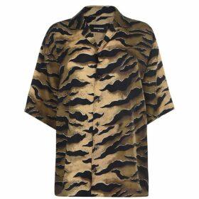 DSquared2 Tiger Striped Blouse