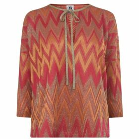 M Missoni Lurex Blouse