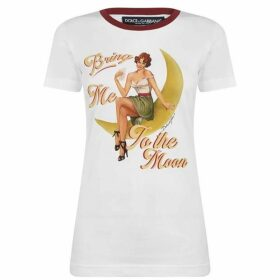 Dolce and Gabbana Pin Up T Shirt