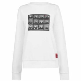 Hugo Nacita David Bowie Print Sweatshirt