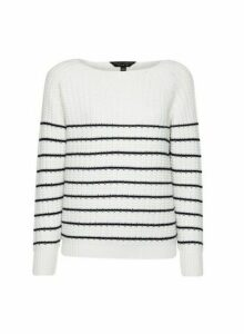 Womens Ivory Textured Jumper, Ivory