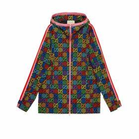 GG Psychedelic print nylon jacket