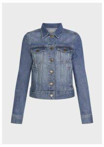Mariam Jacket Mid Blue