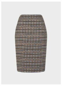 Ayla Skirt Navy Multi